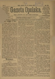 Gazeta Opolska, 1897, R. 8, nr 6
