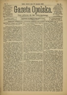 Gazeta Opolska, 1898, R. 9, Nr 7