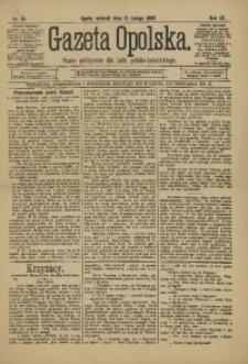 Gazeta Opolska, 1898, R. 9, nr 13