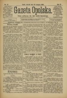Gazeta Opolska, 1898, R. 9, nr 67