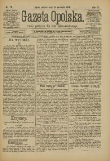 Gazeta Opolska, 1898, R. 9, nr 73