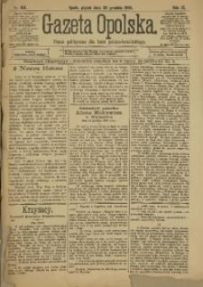 Gazeta Opolska, 1898, R. 9, nr 104