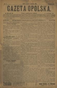 Gazeta Opolska, 1908, R. 19, nr 2