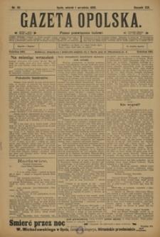Gazeta Opolska, 1908, R. 19, nr 101