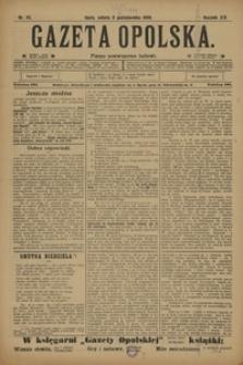 Gazeta Opolska, 1908, R. 19, nr 115