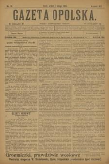 Gazeta Opolska, 1908, R. 19, nr 13