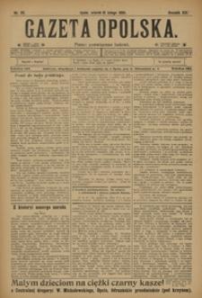 Gazeta Opolska, 1908, R. 19, nr 20