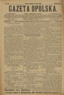 Gazeta Opolska, 1908, R. 19, nr 33