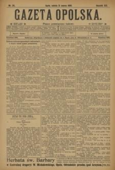 Gazeta Opolska, 1908, R. 19, nr 34
