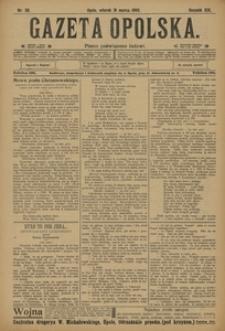 Gazeta Opolska, 1908, R. 19, nr 38