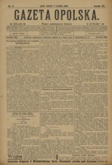 Gazeta Opolska, 1908, R. 19, nr 41