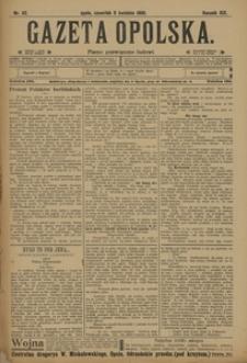 Gazeta Opolska, 1908, R. 19, nr 42