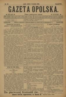Gazeta Opolska, 1908, R. 19, nr 43