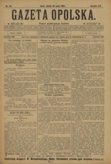 Gazeta Opolska, 1908, R. 19, nr 63