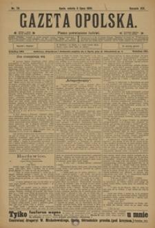Gazeta Opolska, 1908, R. 19, nr 79