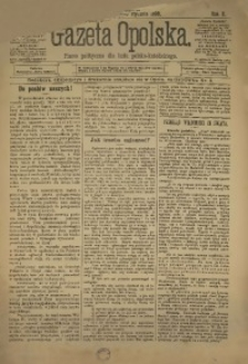 Gazeta Opolska, 1899, R. 10, nr 3
