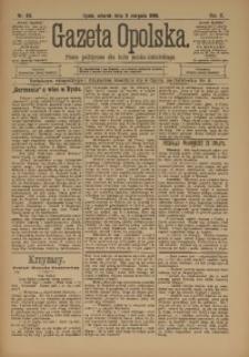 Gazeta Opolska, 1899, R. 10, nr 63