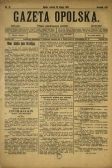 Gazeta Opolska, 1910, R. 21, nr 21