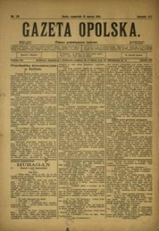 Gazeta Opolska, 1910, R. 21, nr 29