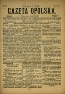 Gazeta Opolska, 1910, R. 21, nr 35