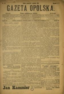 Gazeta Opolska, 1910, R. 21, nr 141
