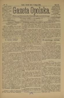 Gazeta Opolska, 1901, R. 12, nr 11