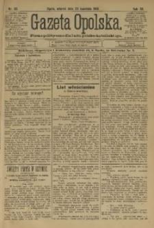 Gazeta Opolska, 1901, R. 12, nr 33
