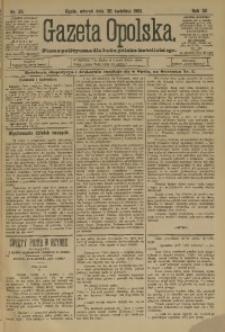 Gazeta Opolska, 1901, R. 12, nr 35