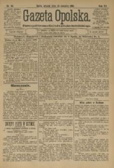 Gazeta Opolska, 1901, R. 12, nr 65