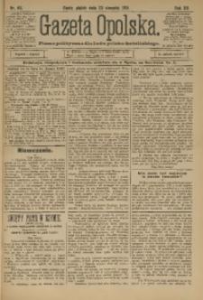 Gazeta Opolska, 1901, R. 12, nr 68