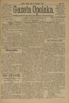 Gazeta Opolska, 1901, R. 12, nr 72