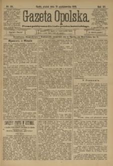 Gazeta Opolska, 1901, R. 12, nr 84