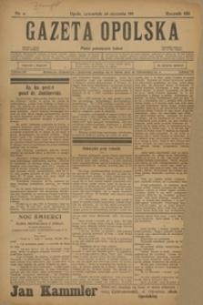 Gazeta Opolska, 1911, R. 22, nr 11