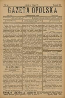 Gazeta Opolska, 1911, R. 22, nr 25