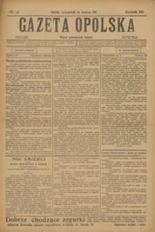 Gazeta Opolska, 1911, R. 22, nr 32