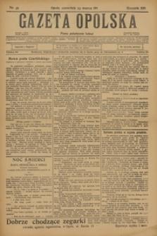 Gazeta Opolska, 1911, R. 22, nr 35