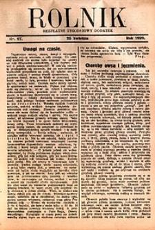 Rolnik, 1929, [R. 27], nr17