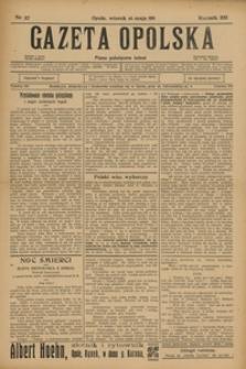 Gazeta Opolska, 1911, R. 22, nr 57