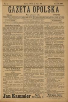 Gazeta Opolska, 1911, R. 23 [właśc. 22], nr 82