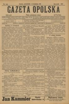 Gazeta Opolska, 1911, R. 23 [właśc. 22], nr 105