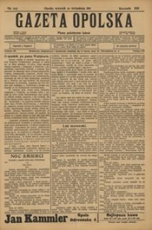 Gazeta Opolska, 1911, R. 23 [właśc. 22], nr 107