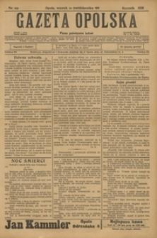 Gazeta Opolska, 1911, R. 23 [właśc. 22], nr 119