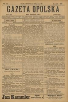 Gazeta Opolska, 1911, R. 23 [właśc. 22], nr 129