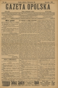 Gazeta Opolska, 1911, R. 23 [właśc. 22], nr 130