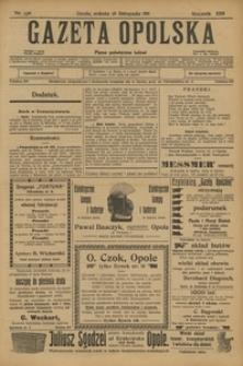 Gazeta Opolska, 1911, R. 23 [właśc. 22], nr 136
