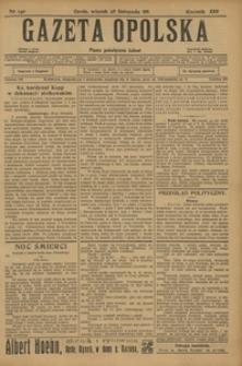 Gazeta Opolska, 1911, R. 23 [właśc. 22], nr 140