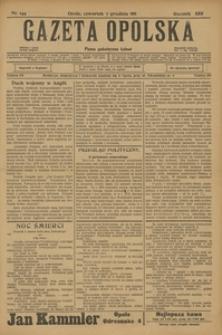 Gazeta Opolska, 1911, R. 23 [właśc. 22], nr 144