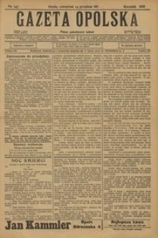 Gazeta Opolska, 1911, R. 23 [właśc. 22], nr 147