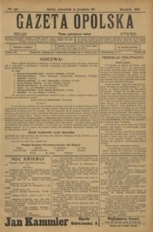 Gazeta Opolska, 1911, R. 23 [właśc. 22], nr 150