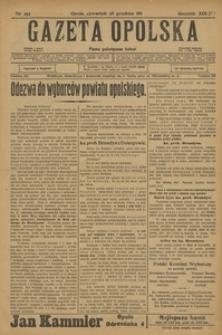 Gazeta Opolska, 1911, R. 23 [właśc. 22], nr 152